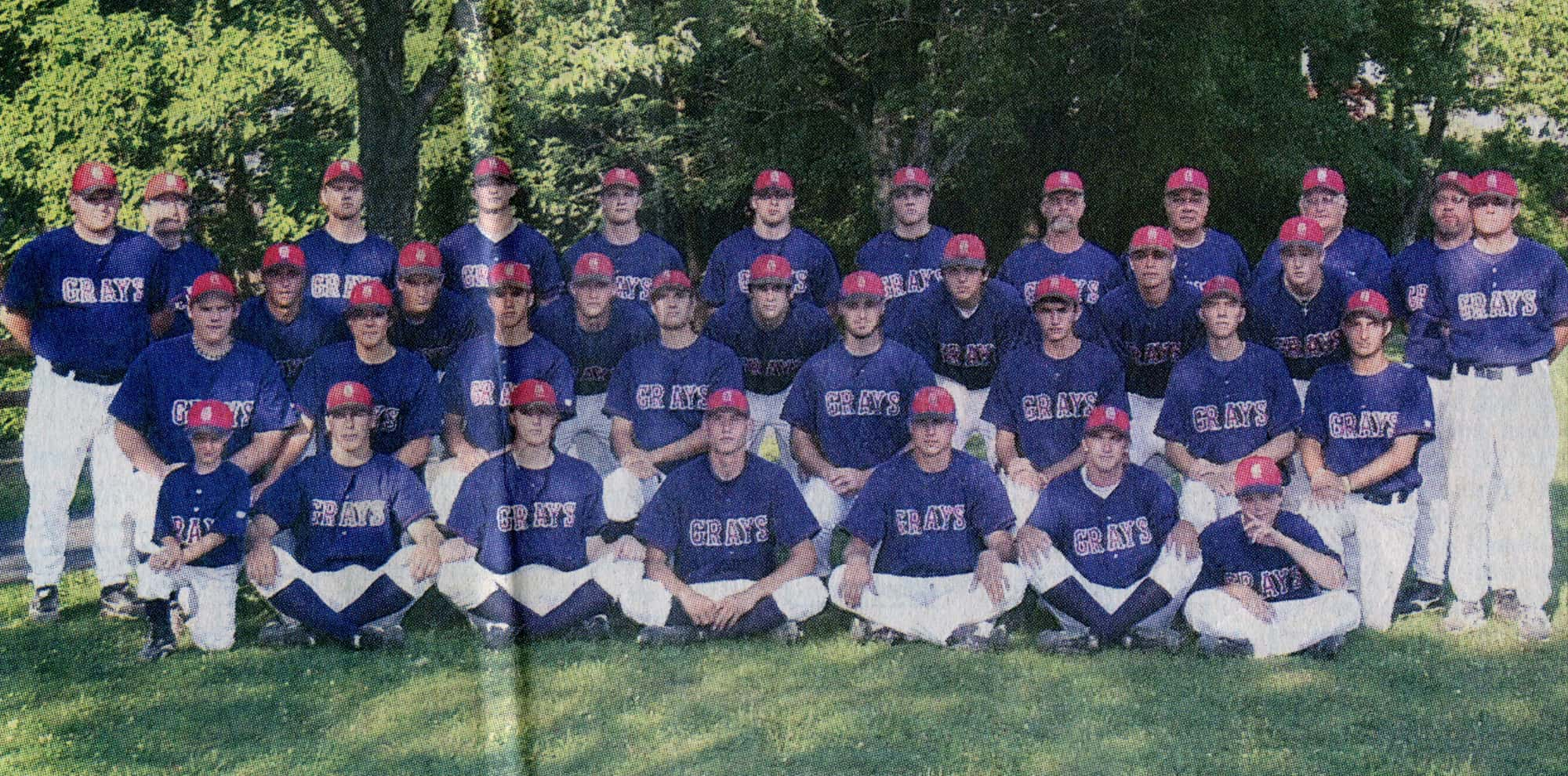 Johnstown Grays 2005 AAABA