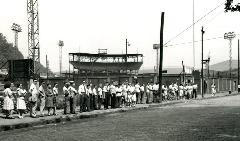 Point-Stadium-1947-line-for-jhs-fb-tickets