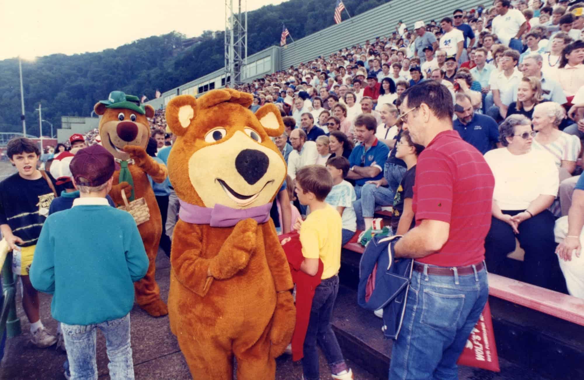 Yogi Bear at AAABA Opener