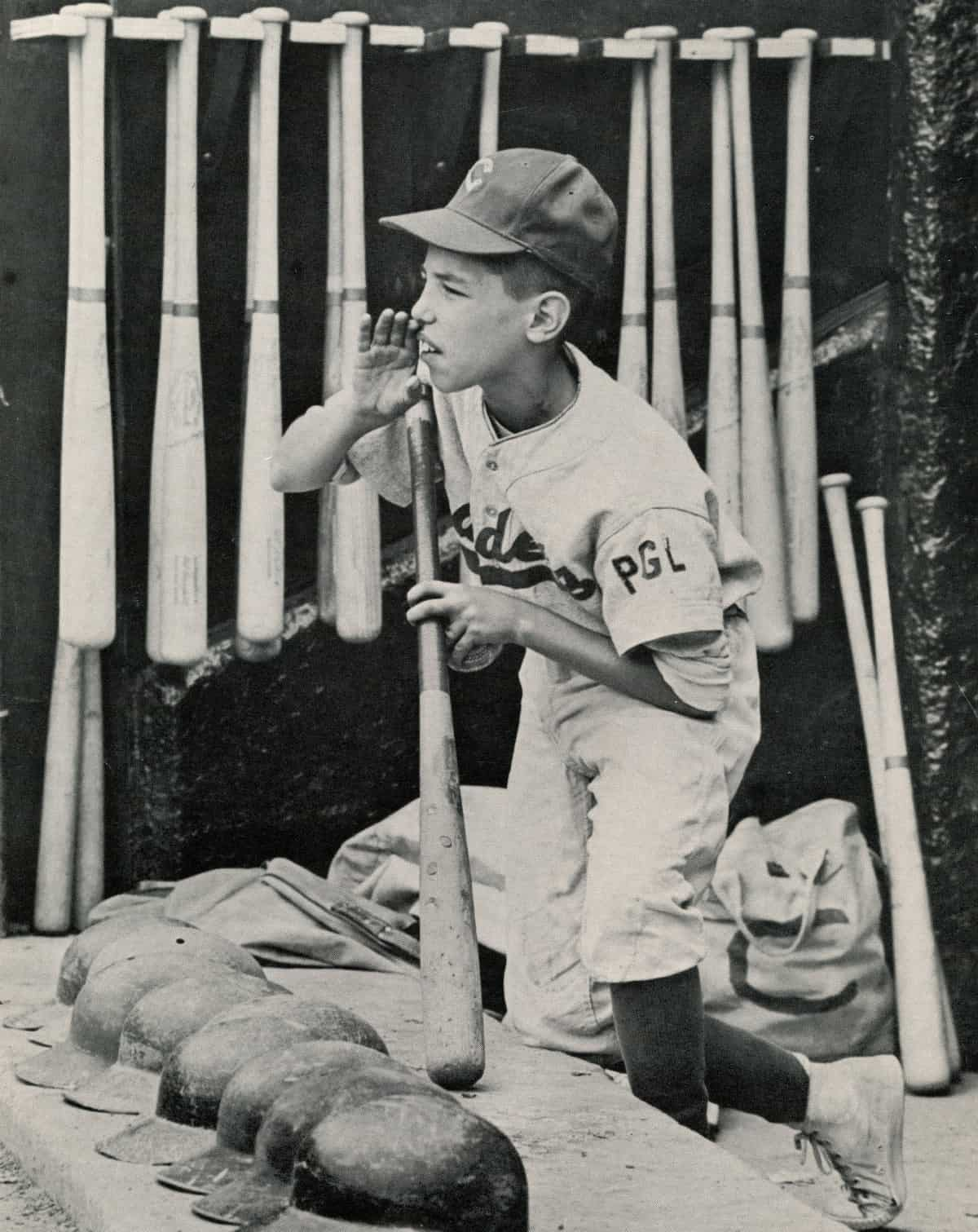 1962-Brooklyn-Cadets-batboy-Frank-Compiso-age-12
