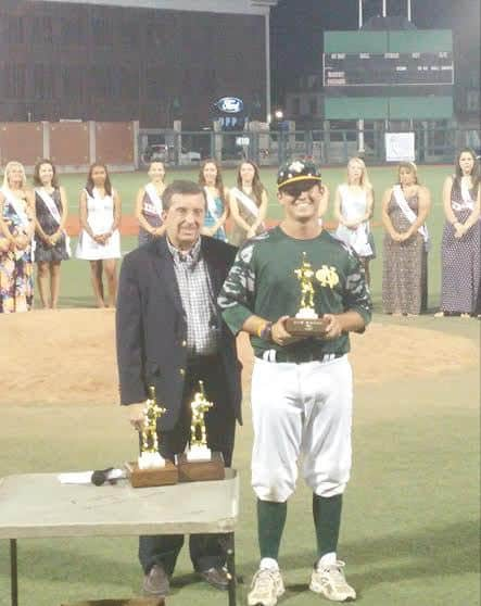New Orleans P Brooks Vial MVP 2015 AAABA Tournament