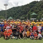 AAABA Tournament Youth Clinic is a hit at the Point