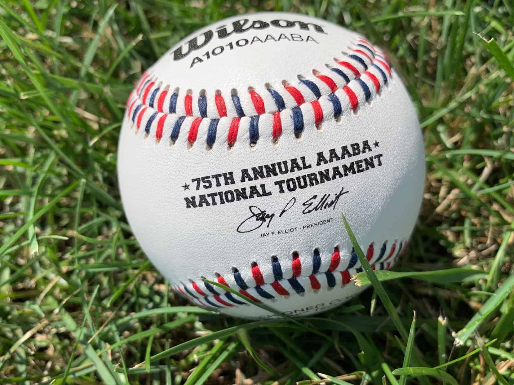 AAABA 75th anniversary ball tight shot
