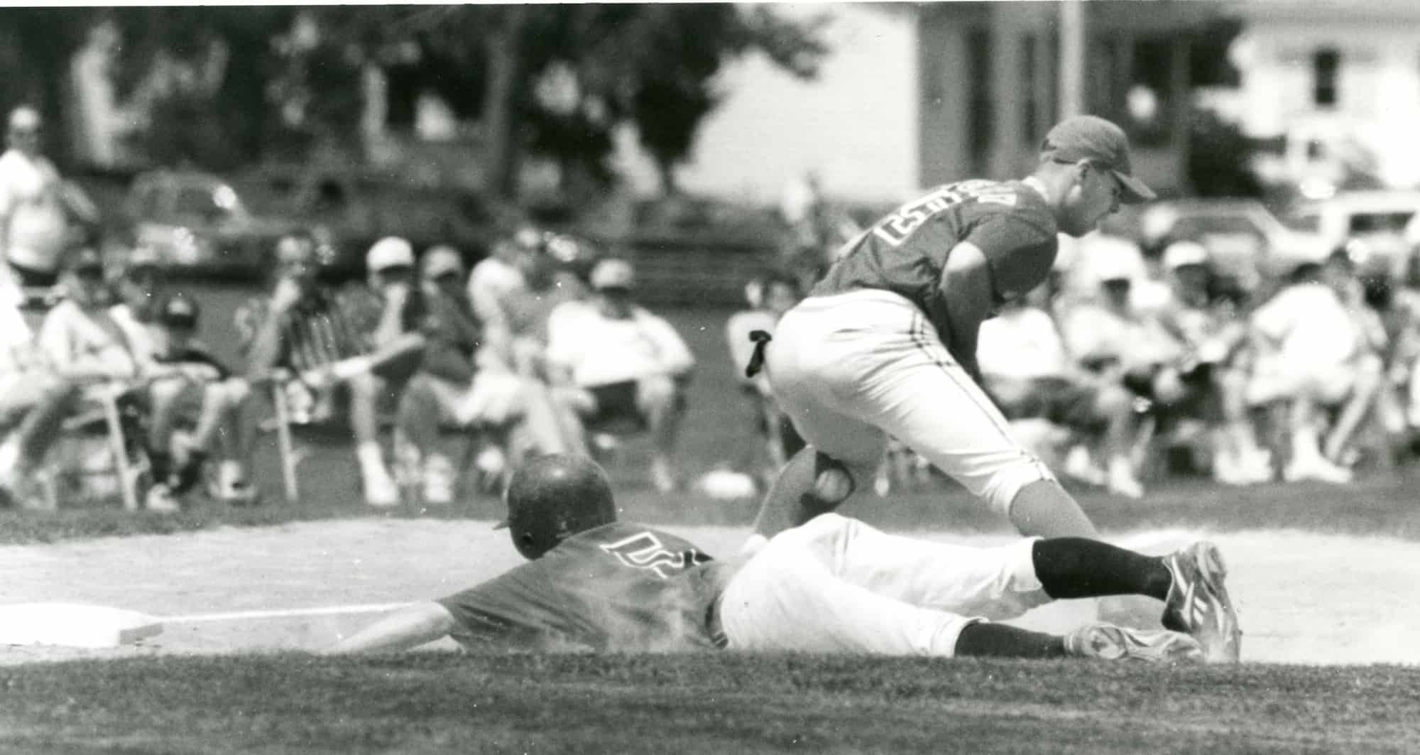 AAABA game action outlying field
