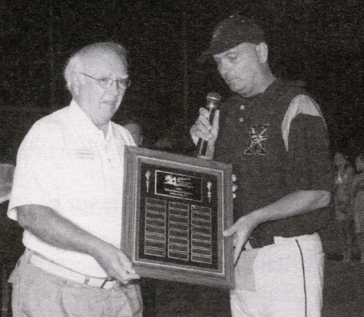Bob Wolfe presentation to Baltimore MGR Dean Albany 2004
