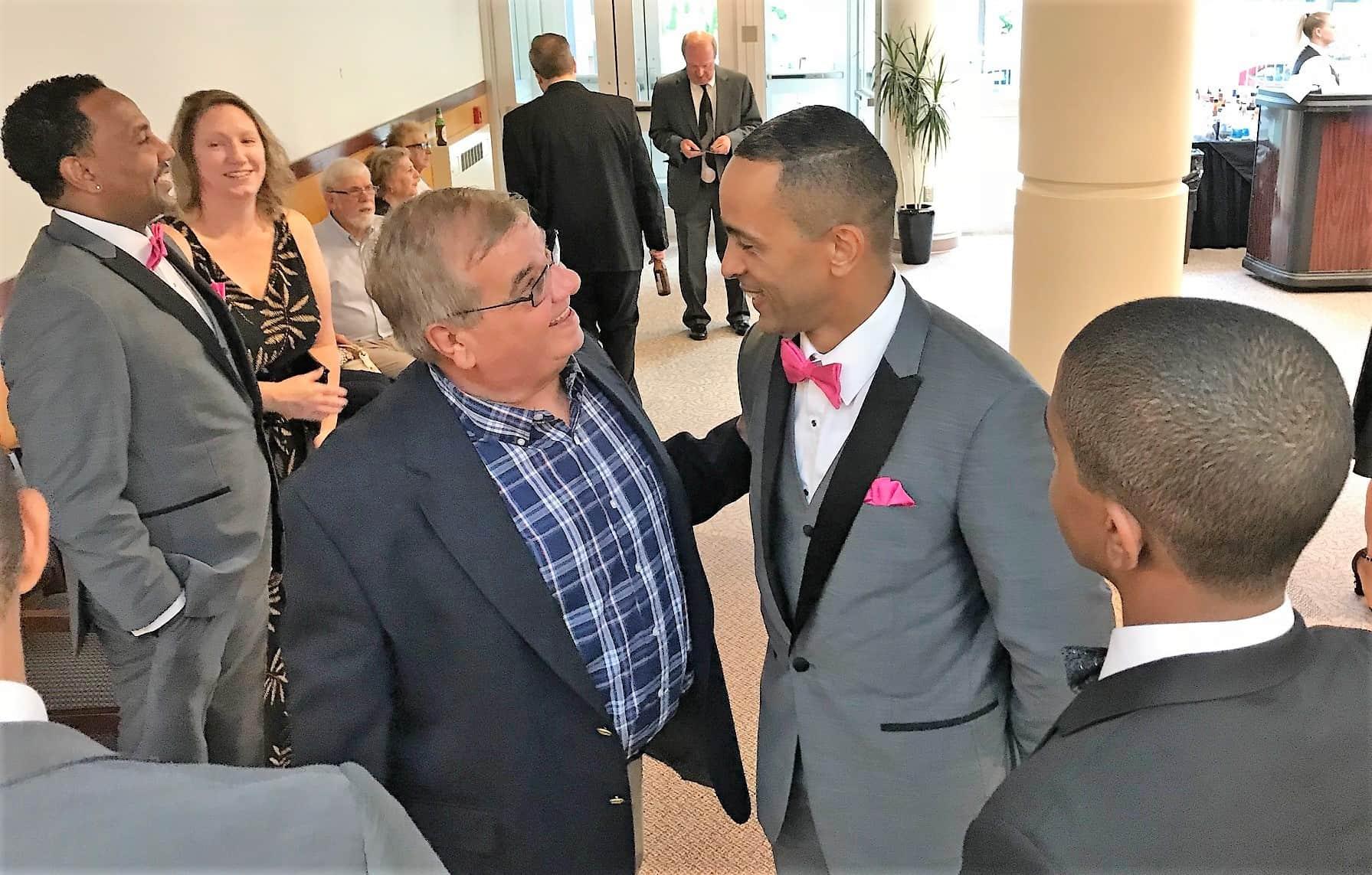 Dee Dee Osborne and Julio Lugo 2018