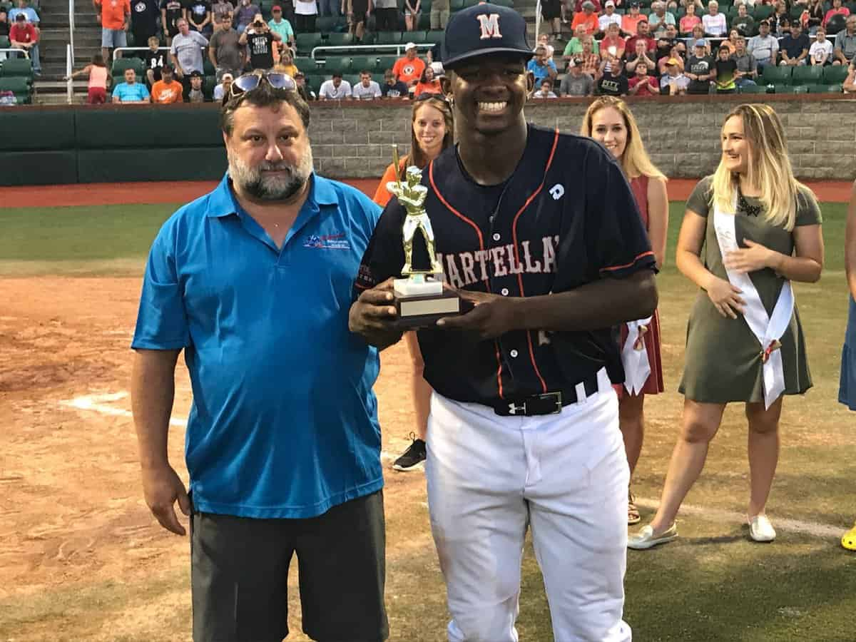 Omar Ward RBI award