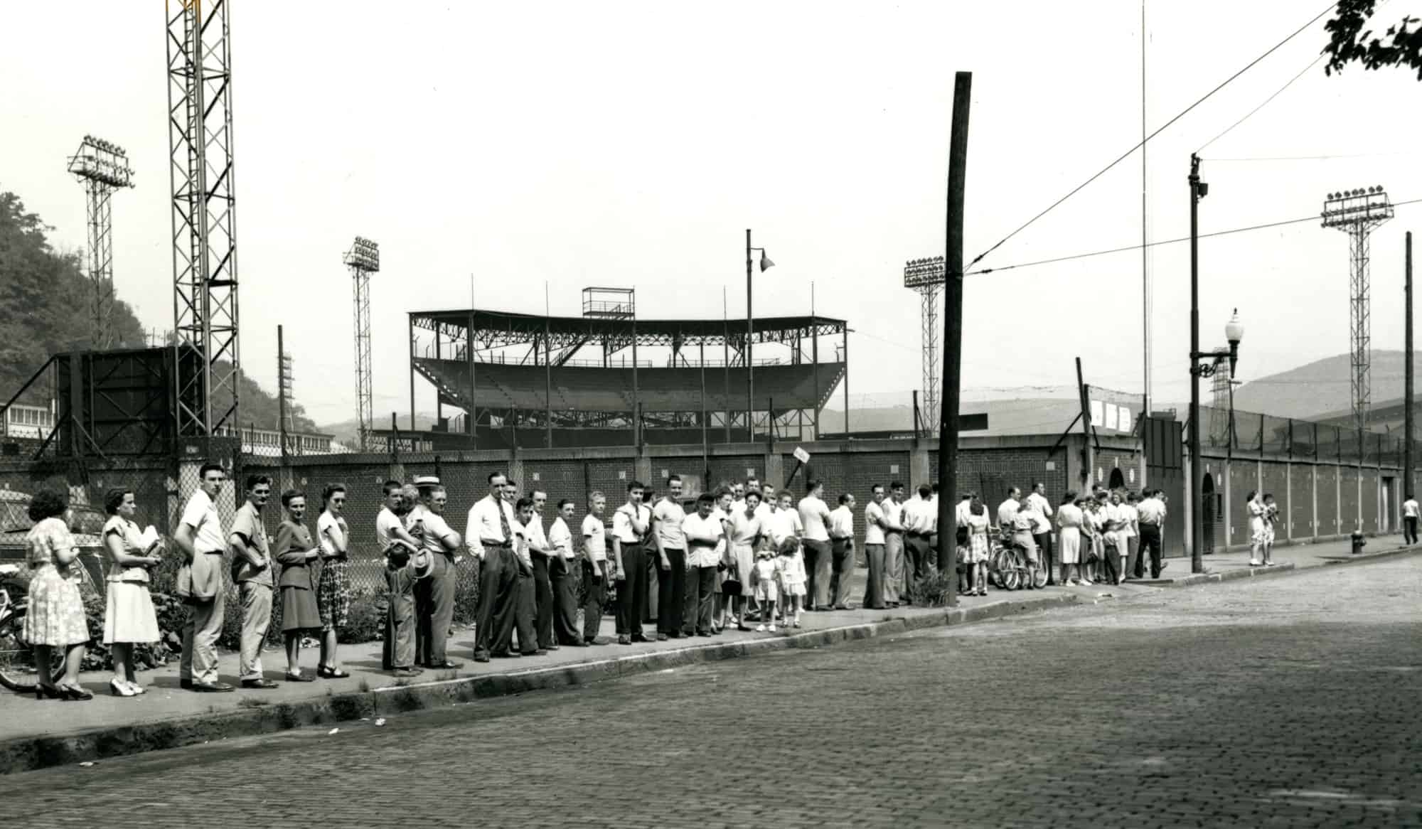 Point Stadium 1947 line for jhs fb tickets