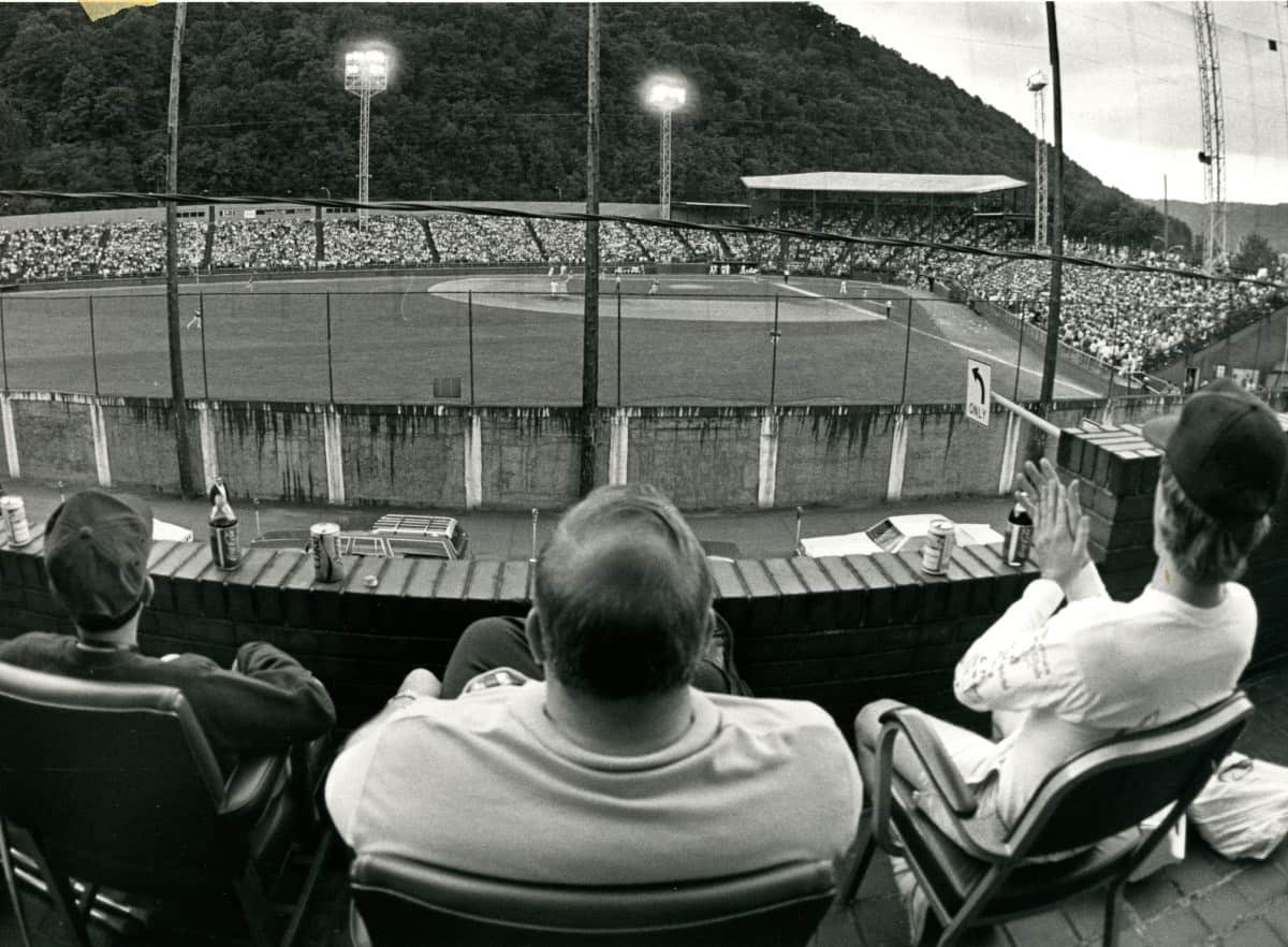 Point-Stadium-view-from-across-street-1986-AAABA-Tournament