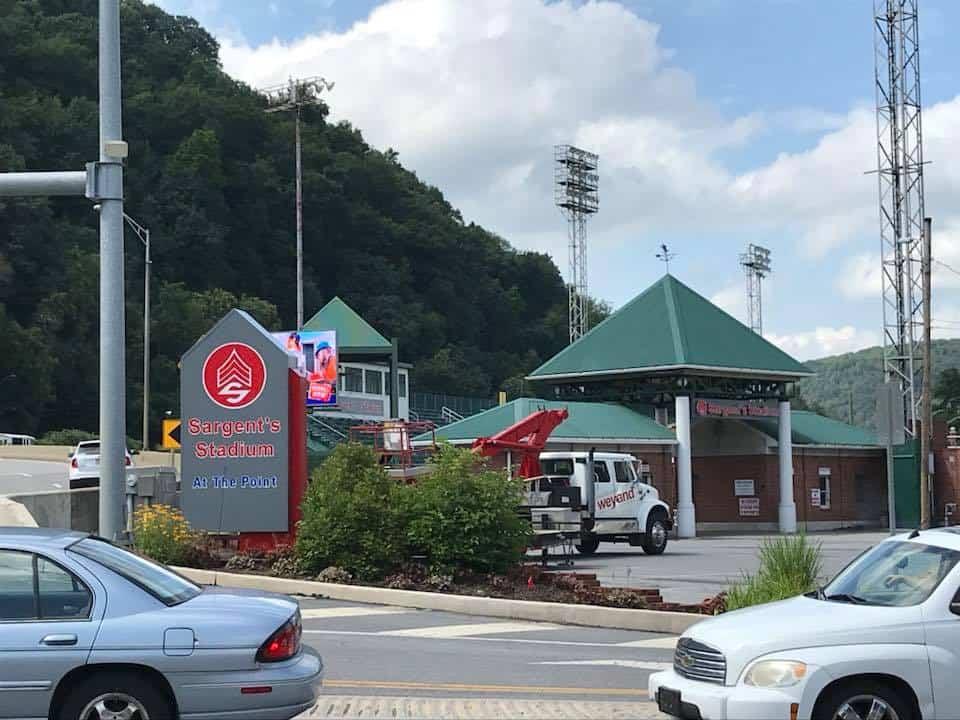 Sargent's Stadium signage 3