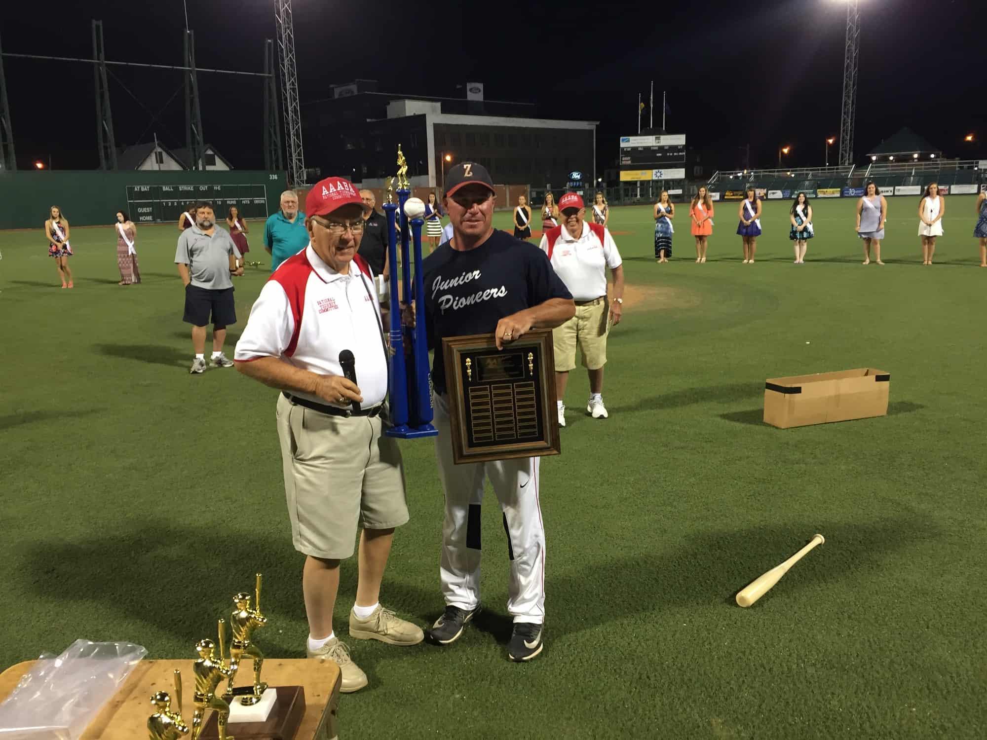 Zanesville Dave Balo trophy