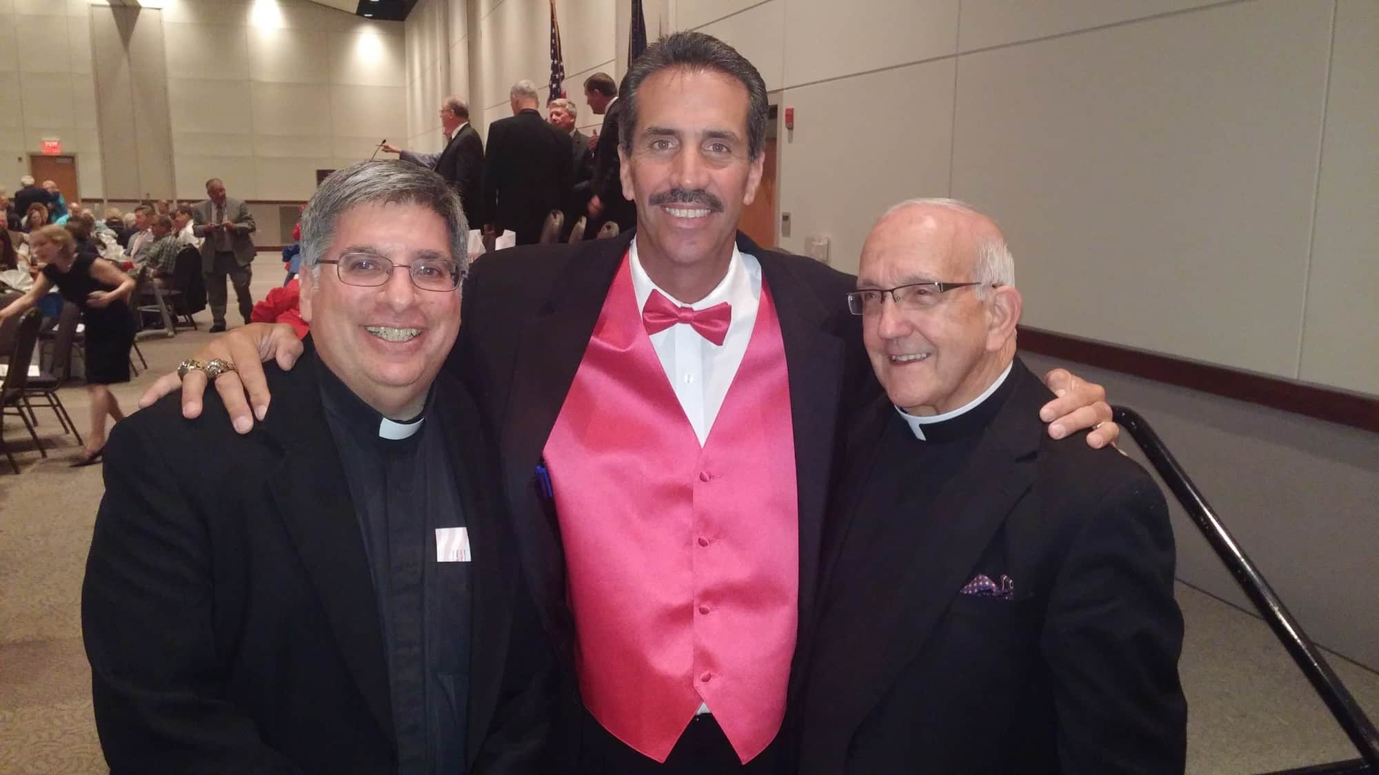 Sid Bream and Father Bellestino