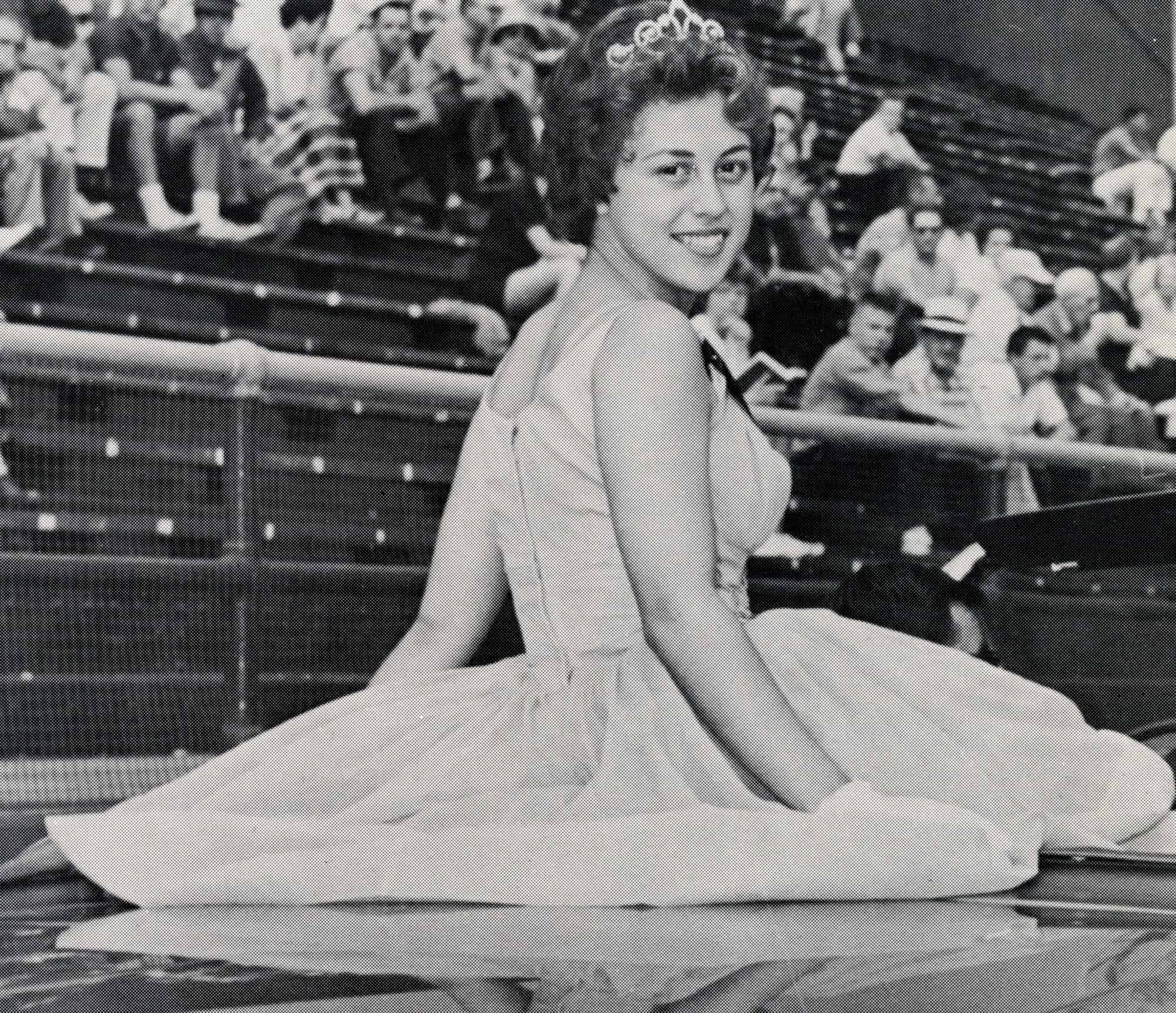 1961 AAABA Tournament Queen Elizabeth Mary Lupo