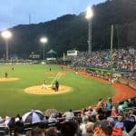 Fans turn out for AAABA Tournament official opener despite rain