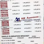 AAABA Tournament first-round matchups and sites