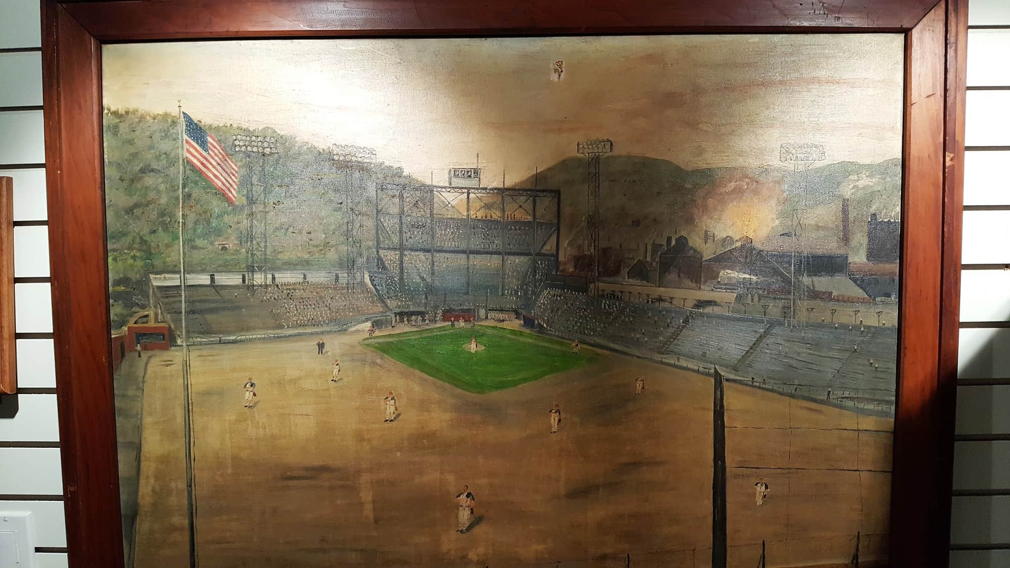AAABA HOF vintage painting of Point