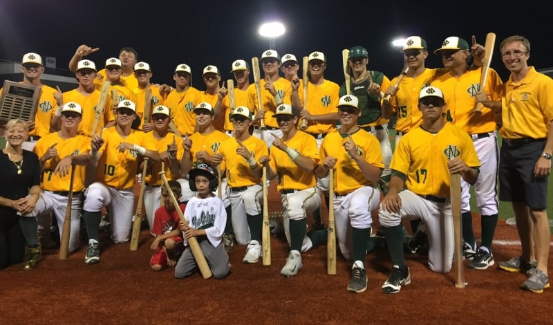 New Orleans team with bats