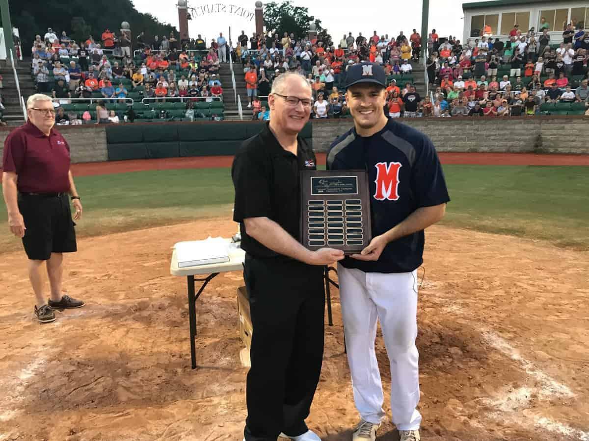 Jesse Cooper championship award