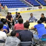 Lugo Brothers offer advice to current Youth Service League players