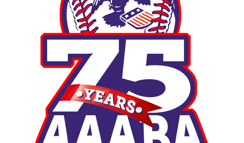 AAABA Tournament 75th logo
