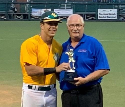 AAABA MVP Christian Westcott 2021